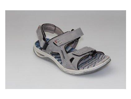 SANTÉ Zdravotní sandále - PE/31604-55 GRAFITE