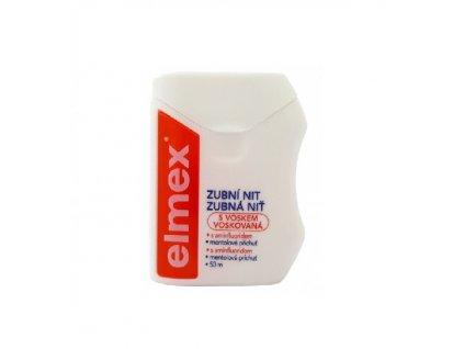 Elmex zubní nit s voskem 50m