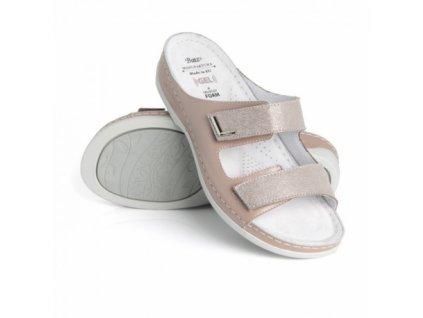 batz fc07 nude mix damske zdravotni pantofle