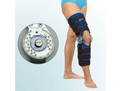 Ortéza kolenního kloubu s limitovaným rozsahem pohybu OR 1