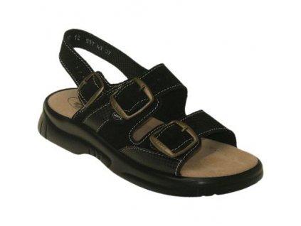 Zdravotní pracovní obuv s přezkami - N/517/43