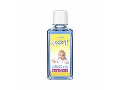 Dětský olej Aviril s azulenem