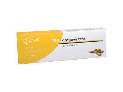 Test na drogy M3 - THC,OPIÁT,PERVITIN,META.