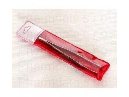 Pinzeta kosmetická rovná SI-16/90mm