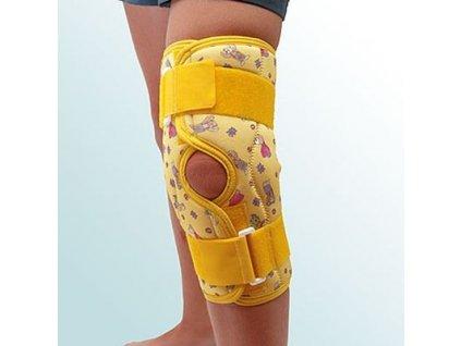 Ortéza kolene, krátká léčebná s kloubem - rozepínací OR7C