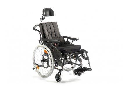 Invalidní vozík polohovatelný
