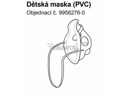 Maska PVC pediatrická pro Inhalátory Omron