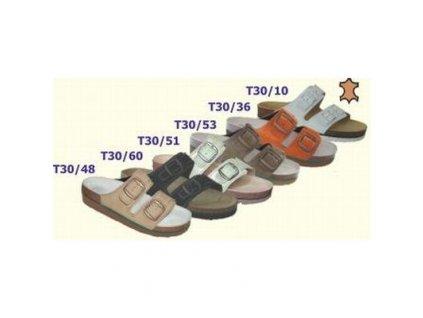 Ortopedická korková obuv T30