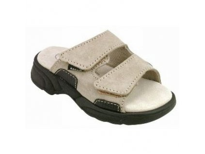 Dámský pantofel N471/11 - suchý zip