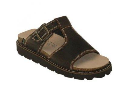Dámský pantofel s klínkem N/560/11
