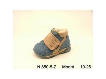 Zimní dětská obuv s kožíškem N/850 vel.19