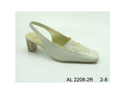 Vycházková lodička porcelan AL/2208-2R vel.35