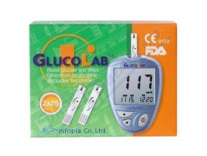 Proužky Gluco Lab 50ks