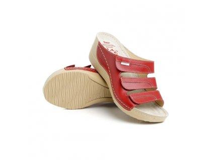 batz olga red damske zdravotni pantofle 510