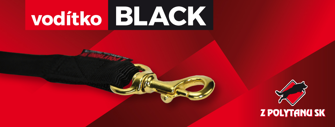 Vodítko Black