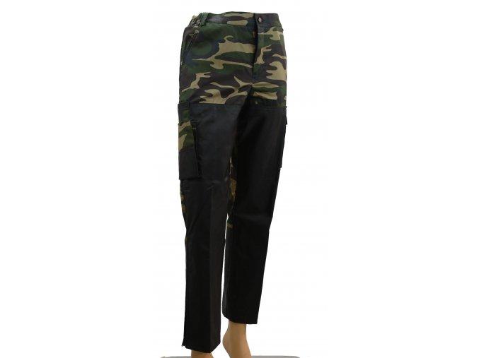 Nohavice psovodské CAMO-Black (XS/S)