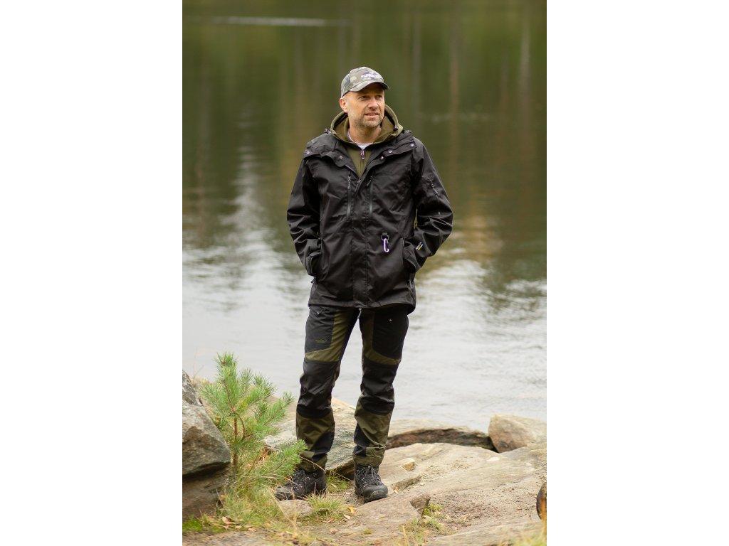 Kalhoty Active Pants zkrácené (pánské) NOVÉ (Barva Hnědá, Velikost 60)