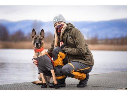 Kalhoty Active Pants normální (dámské) NOVÉ (Barva Fuchsiová, Velikost 48)