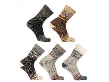Vlněné ponožky Arrak