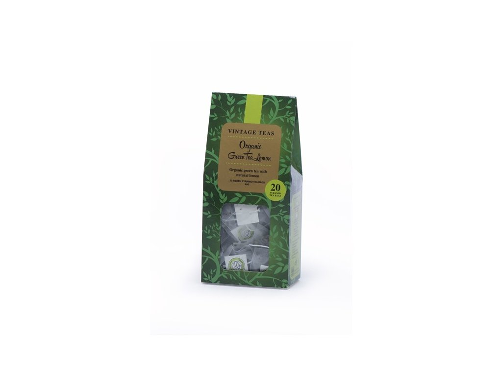 vyr 620 organic green tea lemon