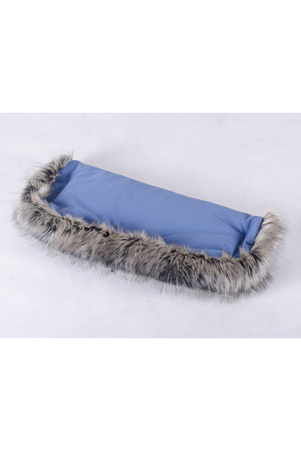 Zu-Lu rukávník softshell Blue mýval