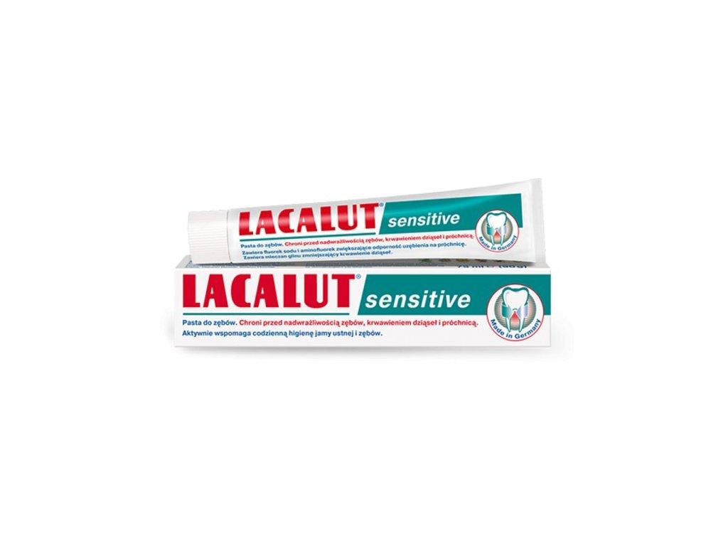 lacalut sensitive pasta do zebow wrazliwych 75ml zdrovit