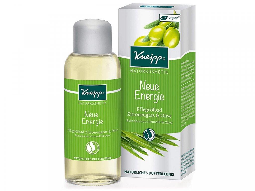 Kneipp olej do koupele Citronová tráva a olivy 100 ml