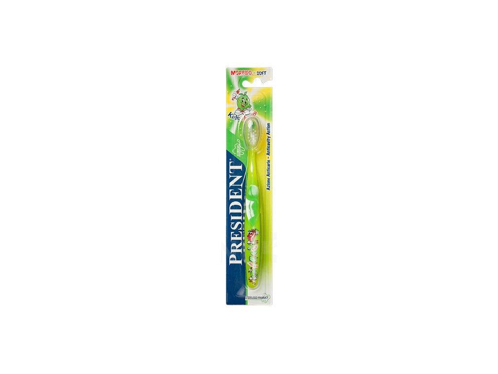 PresiDENT Kids Junior 5-11 dětský zubní kartáček