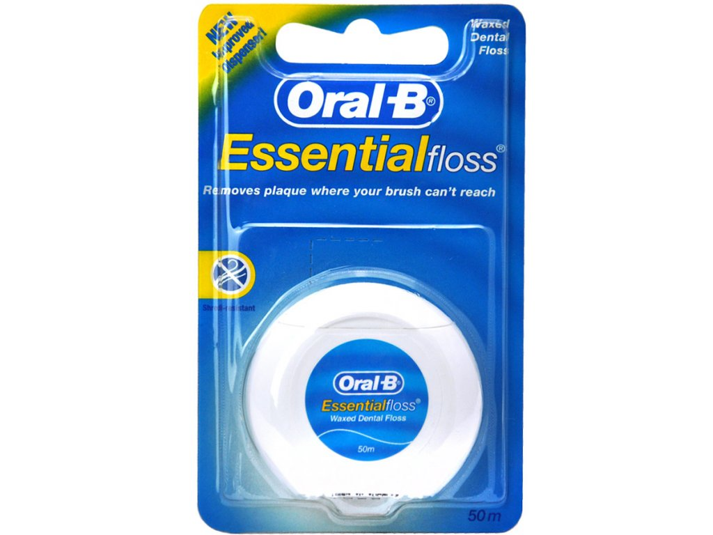 Oral-B EssentialFloss Mint Wax zubní niť voskovaná