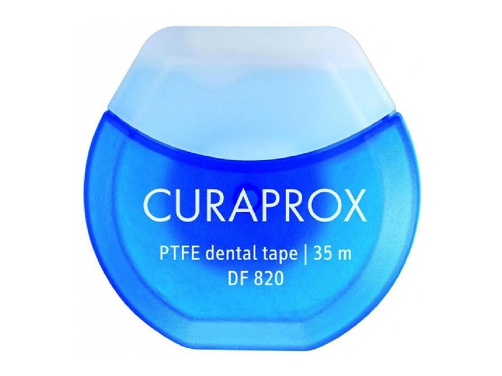 Curaprox DF 820 dentální páska Chlorhexidin 35m