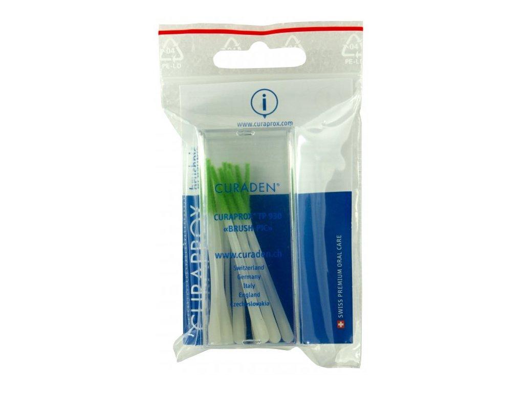 Curaprox TP 930 dentální párátka s filcem 10x