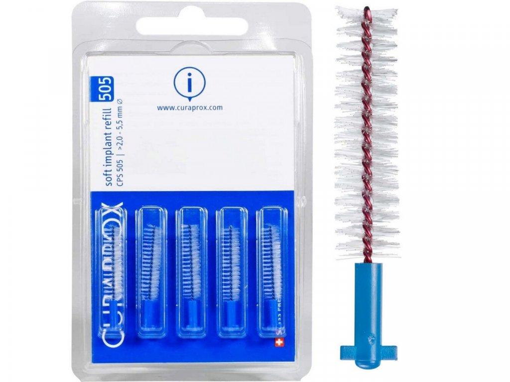 Curaprox CPS 505 soft implant 5ks