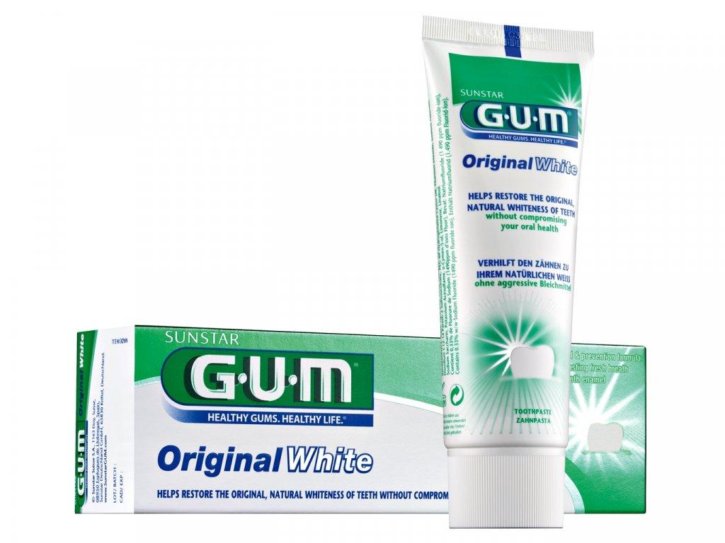GUM Original White zubní pasta 75ml