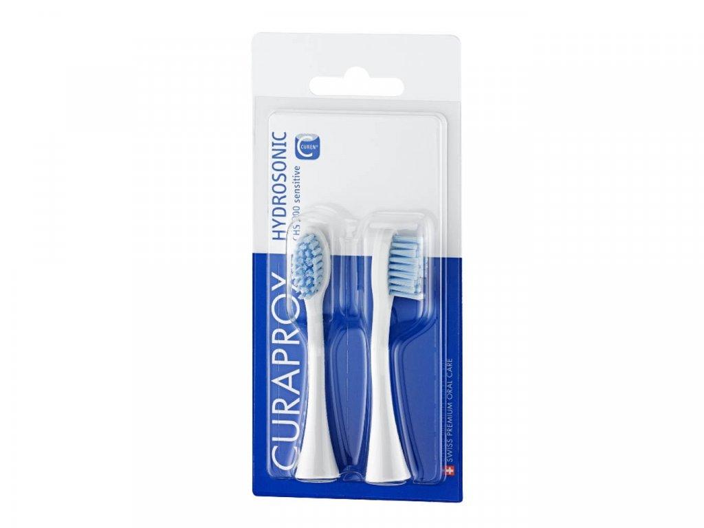 Curaprox CHS 200 náhradní hlavice sensitive
