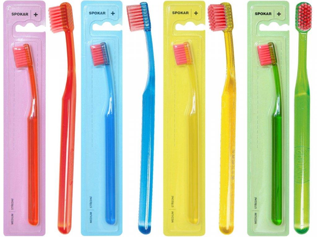 SPOKAR Zubní kartáček 3428 PLUS střední