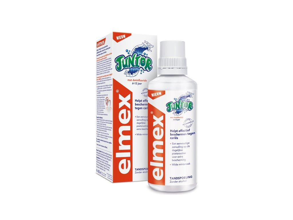 Elmex Junior ústní voda 400 ml