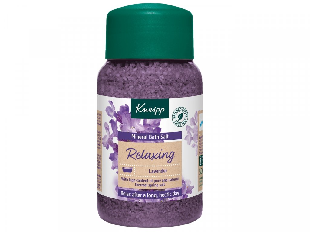 kneipp relaxing lavender sul do koupele s mineraly