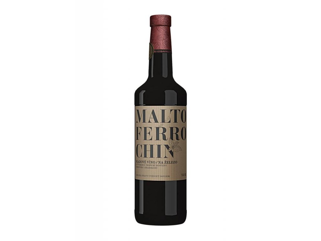 Herbadent MALTOFERROCHIN železité víno 750 ml