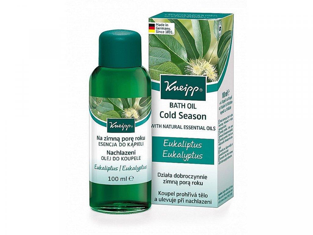 KNEIPP® Olej do koupele Nachlazení 100 ml