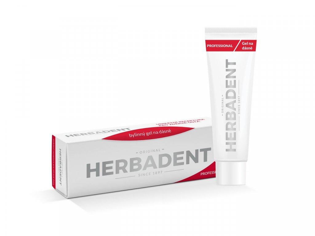 HERBADENT Professional gel na dásně s Chlorhexidin