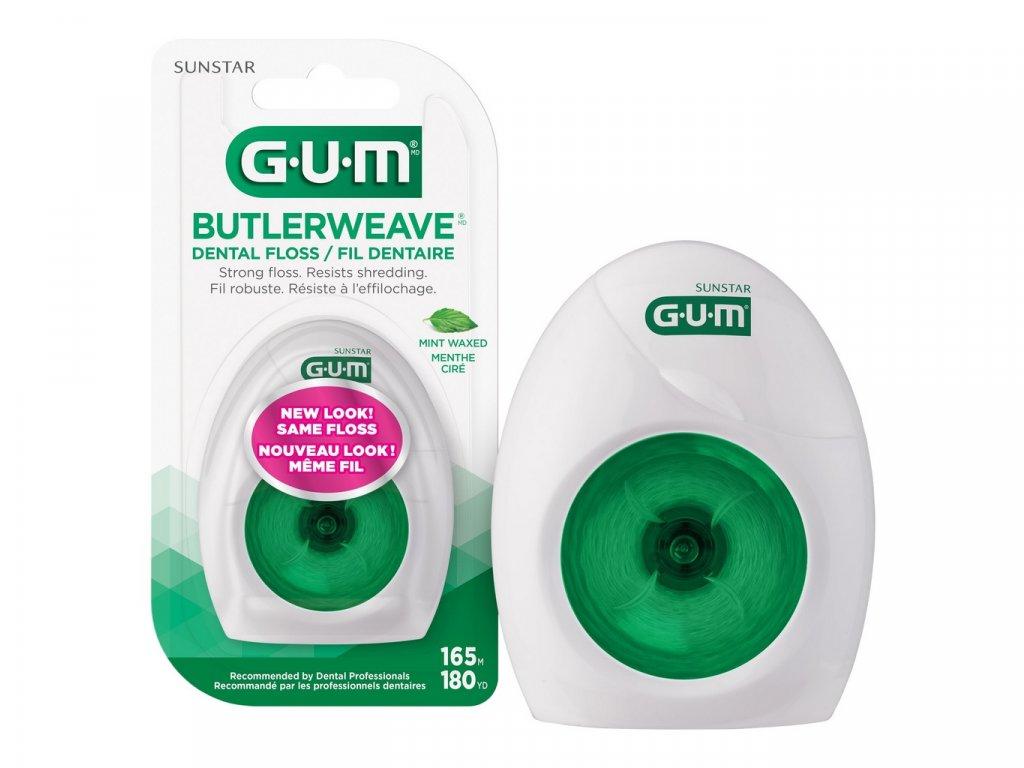 GUM nit Weawe voskovaná s mentolem 55m