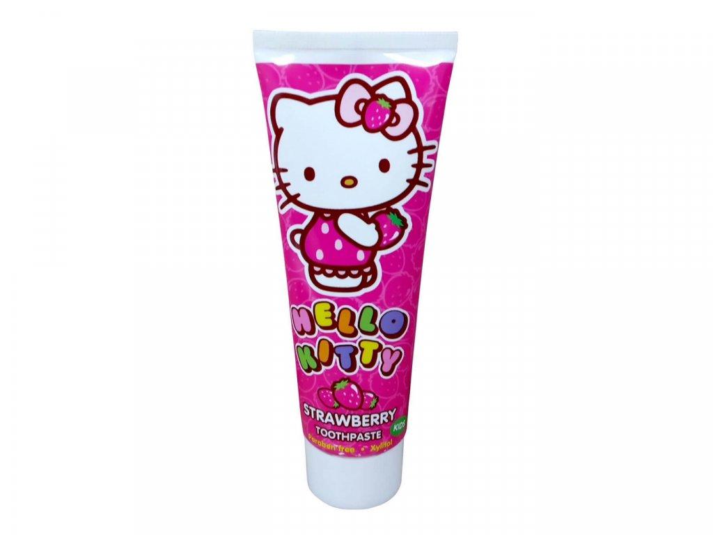 Hello Kitty zubní pasta 75ml bez parabenů s xylitolem