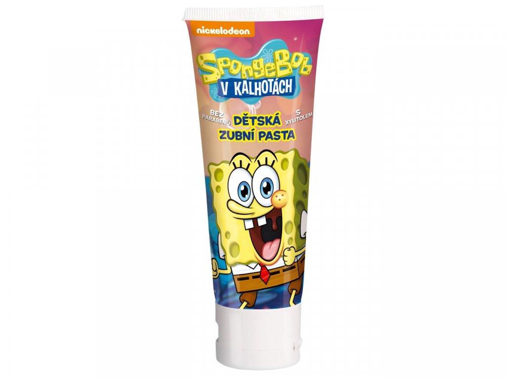SpongeBob zubní pasta 75ml bez parabenů s xylitolem
