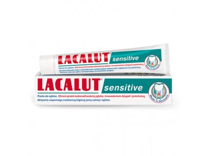 lacalut sensitive pasta do zebow wrazliwych 75ml zdrovit