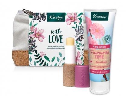 Kneipp dárková taštička S láskou rozbalená