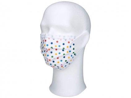 WELLSAMASK 3-vrstvé hypoalergenní ochranné ústenky