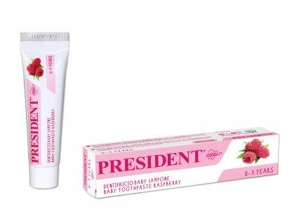 Baby 0 3 Raspberry Toothpaste