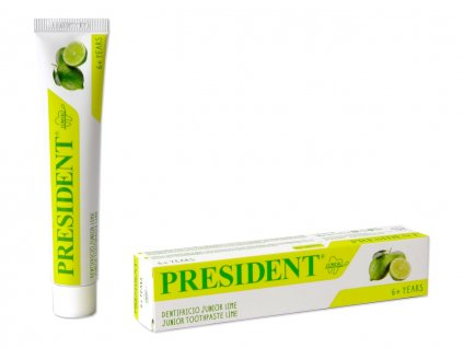 PresiDENT zubní pasta Junior 50ml 6+ let (limeta)