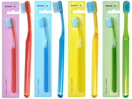 SPOKAR Zubní kartáček 3428 PLUS extra měkký