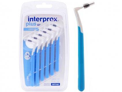 Interprox PLUS CONICAL 0,8 mm modré 6 ks